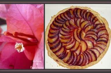 Tarte aux Prunes, Miel & Épices