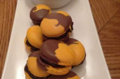 Macarons chocolat citron