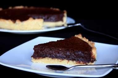 Tarte à la mousse de chocolat