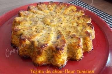 Tajine de chou-fleur tunisien