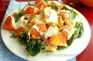 Salade a l'orange et curry