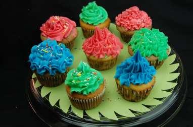 Cupcakes vanille et chocolat