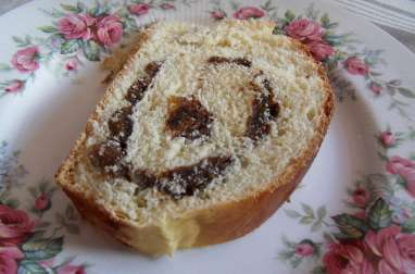 Gubana ou gâteau vénitien brioché