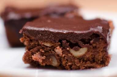 Brownie à la ganache