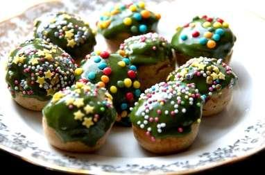 Cake pops pain d'épices (IG bas)