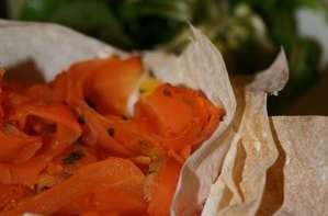 Tartelettes aux carottes citronnées et chaource