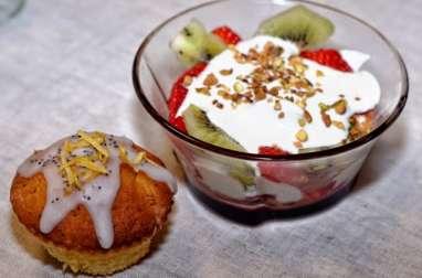 Cupcakes citron-pavot