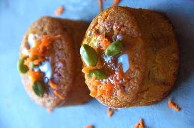 Carrot cake aux pistaches et au miel azahar