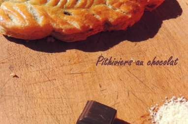 Pithiviers au chocolat