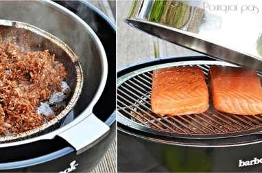 Saumon fumé au barbecue