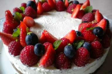Tarte aux fruits rouges, limoncello et spéculoos