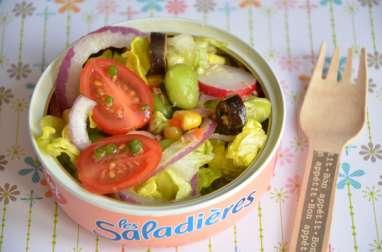 Salade fraiche et croquante