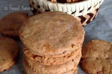 Les biscuits à la châtaigne et aux figues