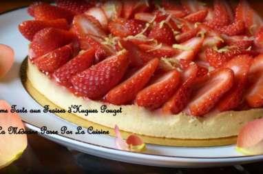 La tarte aux fraises de Hugues Pouget