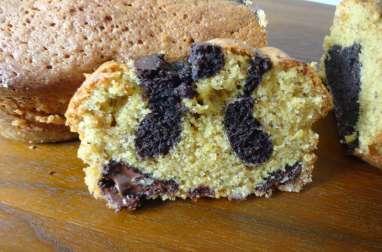 Biscuit noisettine et chocolat marbré