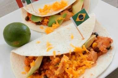 Fajitas brésilo-mexicaines