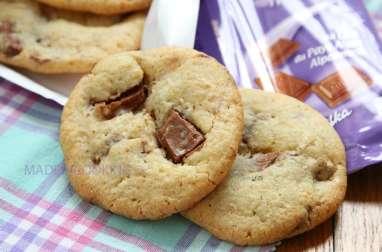 Cookies croustillants aux pépites de chocolat Milka