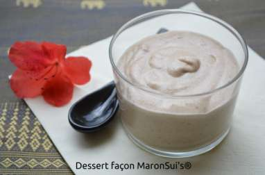 Dessert façon MaronSui's