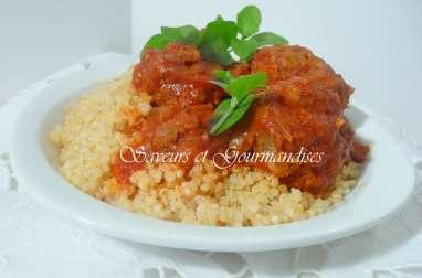 Boulettes de viande au quinoa