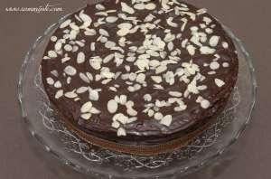 Gâteau aux amandes et au chocolat
