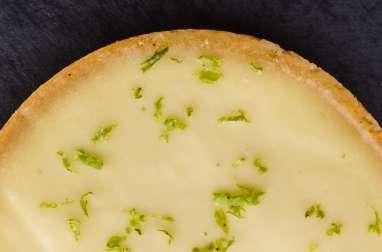 La tarte au citron vert et basilic de Jacques Génin