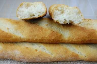 Baguette de pain maison