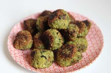 Falafels et sauce menthe persil