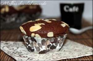 Muffins chocolat amande