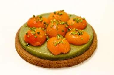 Sablé breton abricots et pistaches