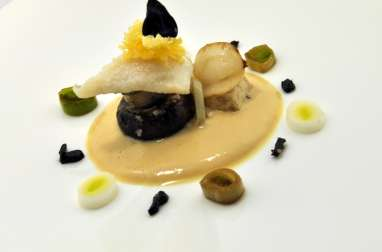 Saint-Pierre sur mousse de Tofu/Miso