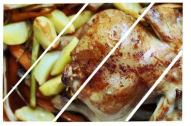 Le plus délicieux poulet rôti du monde