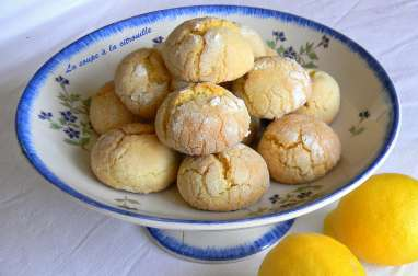 Biscuits tendres au citron