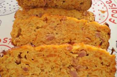 Terrine carottes, bacon et curry