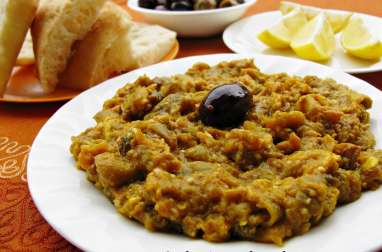 Zaalouk, caviar d'aubergines à la marocaine