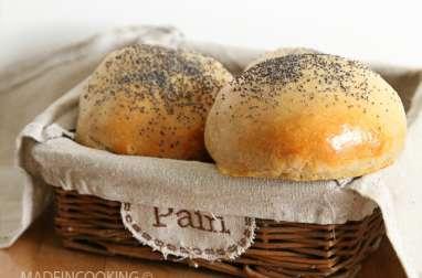 Pains à Buns à la farine de châtaigne