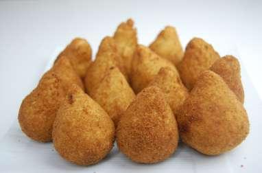 Coxinhas au thon (croquettes brésiliennes)