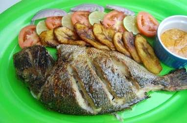 Dorade au four et marinade aux épices africaines