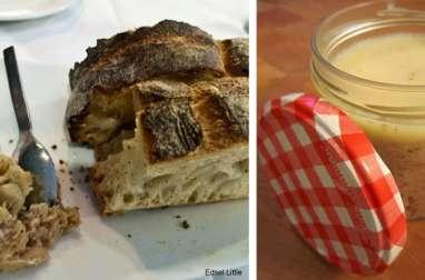 Rillettes de porc aux herbes et Beaujolais, à l'ancienne