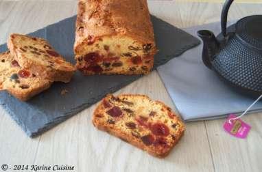 Le cake aux fruits confits