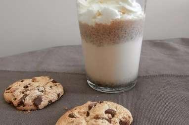 Milkshake aux cookies