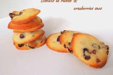 Biscuits aux fruits secs