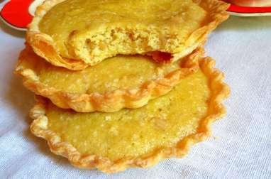 Tartelettes à la Crème d'Amandes et Pignons