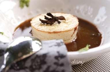 Mousselines de Saint-Jacques à la truffe