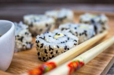 California rolls avocat cream cheese
