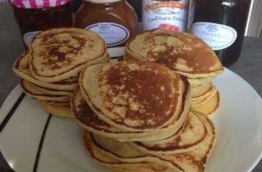 Pancakes au fromage blanc