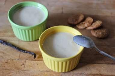 Petites crèmes dessert à la vanille façon Danette