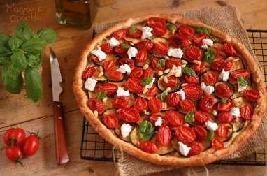 Tarte Courgettes et Tomates Cerises