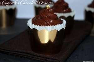 Cupcakes chocolat orange