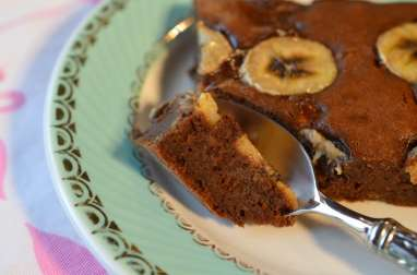 Brownie à la banane