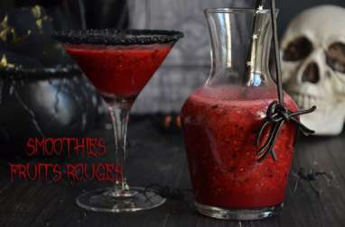 Smoothies fruits rouges